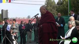 H.H Dalai Lama visits Tibetan Commuinty Center in Richmond California USA,Sunday,Feburary 23,2014
