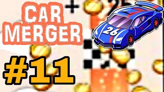 Car Merger Part 11 Game Play Simulation Boosters Throttle Crash Ashbgame