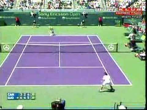 Novak Djokovic - Guillermo Canas Miami 2007 Final