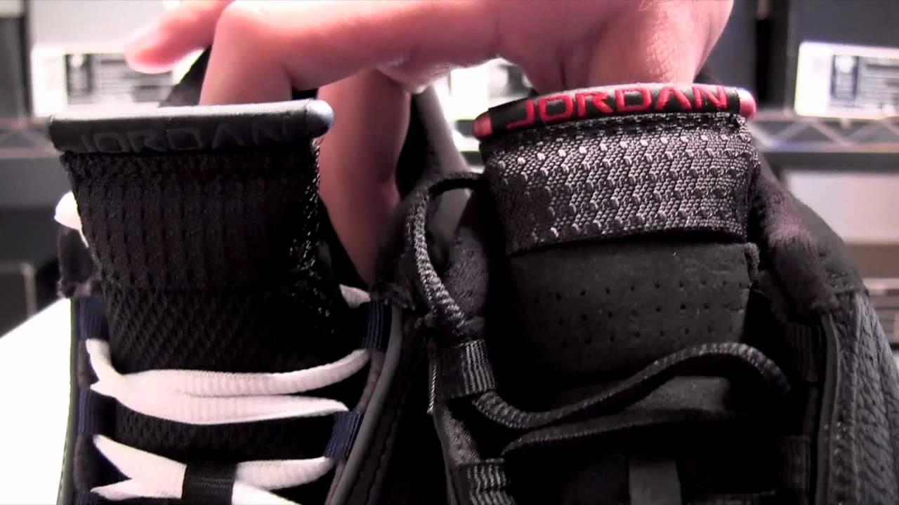 fa4df711e9bb32 Air Jordan 14 (XIV) Graphite vs. Last Shot Comparison - YouTube