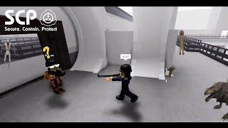 Dude Watch Out! | ROBLOX Minitoon's SCP Containment Breach