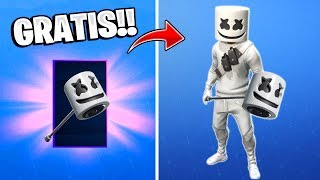 As *DESBLOQUEAR* Fortnite's FREE New Dance and Peak: Battle Royale!! CHALLENGE MARSHMELLO