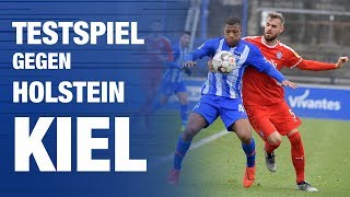 TESTSPIEL GEGEN HOLSTEIN KlEL - Hertha BSC - Berlin - 2018 #hahohe