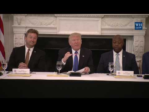 President Trump has Lunch with Members of Congress