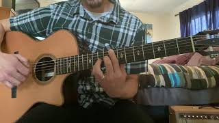 """""""Ease On Down The Road"""" from movie The Wiz cover arrangement for fingerstyle guitar"""
