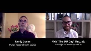 How To Find A Low-EMF Infrared Sauna With Randy Gomm