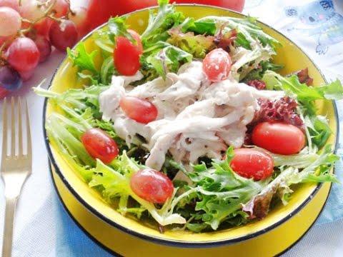 Salad Ức Gà Sốt Sữa Chua Ngon Mà Không Béo