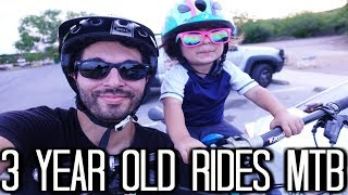 3 Year Old Rides Mountain Bikes | Mac Ride Installation | How to get your kids in to MTB | Whistler
