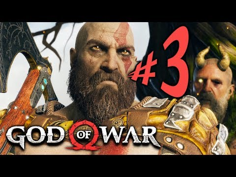 God of War (PS4) - Parte 3: Desventuras no Topo da Montanha!!! [ Playstation 4 Pro - Playthrough ]