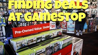 Shopping For Games On The Cheap At Gamestop