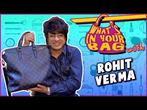 Rohit Verma's Handbag Secret Revealed | What's in Your Bag | TellyMasala