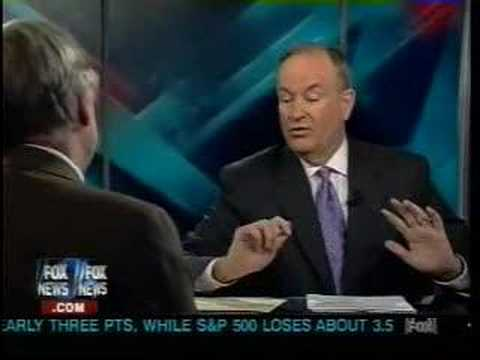 Bill O'Reilly SCARED By Richard Dawkins