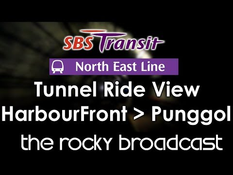 North East Line North-Bound (HarbourFront to Punggol)