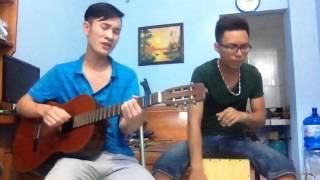Guitar Sắc Màu and Cajon