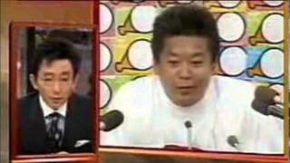 【放送事故】古舘伊知郎 vs 堀江貴文 [本気の大喧嘩]