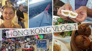 HONG KONG Vlog 1 - Food, Travel, Accommodation