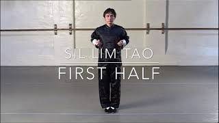 Wing Chun Sil Lim Tao - First Half - Step by Step