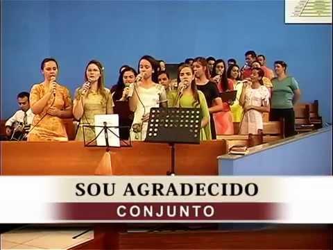 Sou Agradecido - Conjunto - Tabernáculo da Fé - Goiânia/GO - DVD DEUS MARAVILHOSO