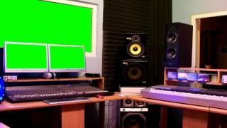 recording studio screen