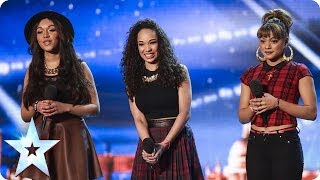 New girlband REAformed's Golden Buzzer moment | Britain's Got Talent 2014