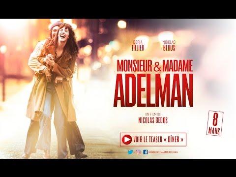 "Teaser ""Diner"" - MONSIEUR & MADAME ADELMAN De Nicolas Bedos"