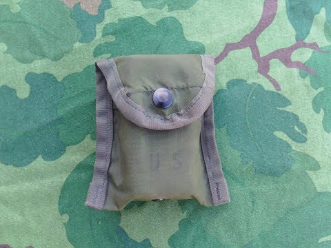 What To Keep In Your USGI Compass/1st Aid Pouch (by The Book)