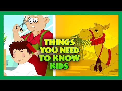 Thumbnail: Things You Need To Know | General Knowledge For Kids | Things Kids Should Know