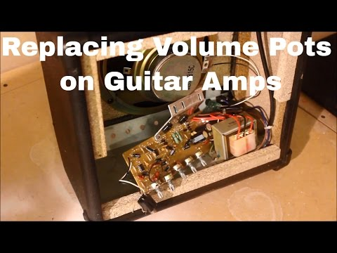 How To Replace Volume Pots on Guitar Amplifiers
