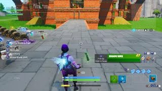 OP shadow form glitch in Fortnite BR