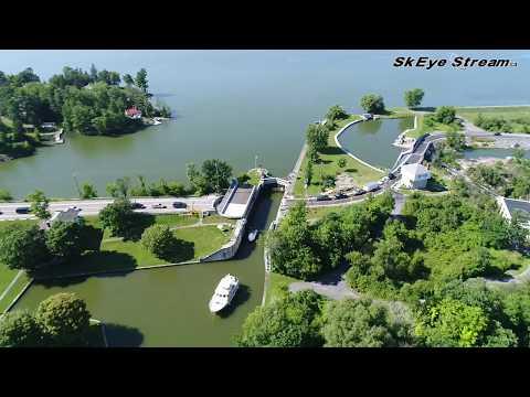 Kingston Mills Locks Swing Bridge