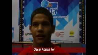 Atletas peruanos Mundial Pesas 2015