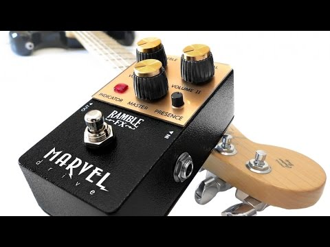 guitar pedal sound test marvel drive by ramble fx youtube. Black Bedroom Furniture Sets. Home Design Ideas