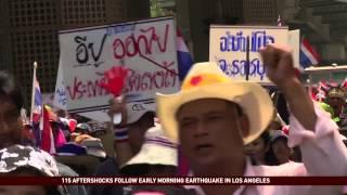 Thai Opposition Calls for Resignation of Prime Minister Yingluck Shinawatra