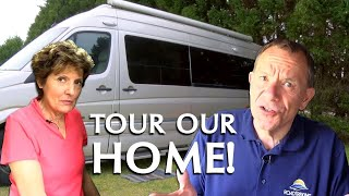 Welcome to our Home: A Tour of our Class B Motorhome