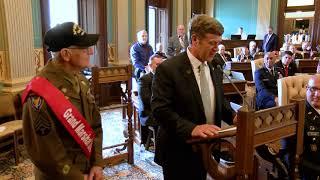 Sen. Daley takes part in 25th annual Michigan Senate Memorial Day Service