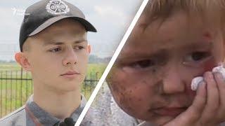 Скнилівська трагедія  Його від смерті врятувала мама