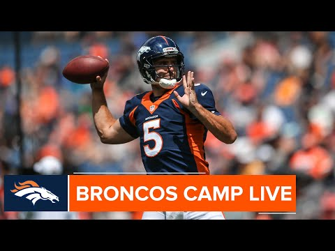 Take A Live Look At The Broncos' First Stadium Practice | Broncos Camp