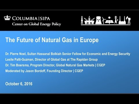 The Future of Natural Gas in Europe