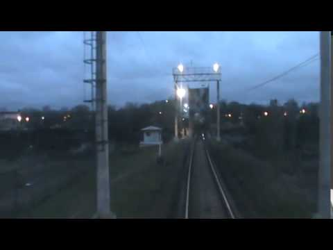 пересечение Российско Эстонской границы с поездом №33