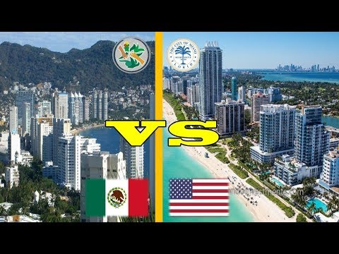 Miami Beach VS Acapulco M�xico | 2018