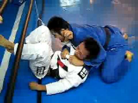 Yuta Yazaki  (Judo - Bl Ue GI)sparring With Makoto Ikuta (Bjj White Gi)