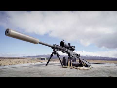 New Zealand Army's new MRAD .338 sniper rifle