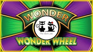 The Slot Cats & Friends! 🎰😺😸🌮👩🏻👨🏻👱 Wonder 4 Wonder Wheel 💸