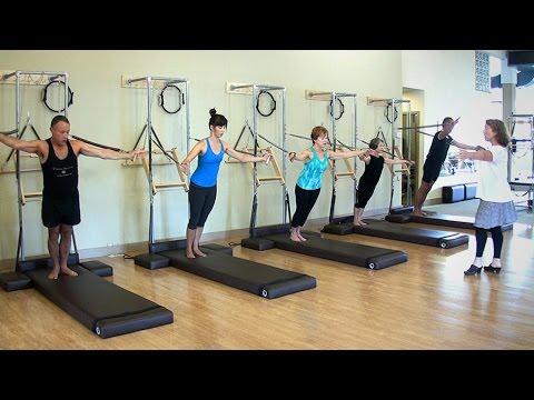 Pilates Standing Arm Springs Series with Lauren Stephen