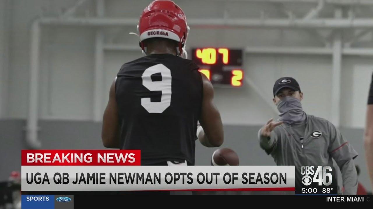 Georgia Bulldogs QB Jamie Newman opts out over coronavirus ...
