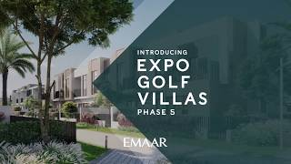 NEW PROJECT LAUNCH! - Expo Golf Villas Phase 5 (GreenView 2) #emaar #expogolfvillas5 #provident / Видео