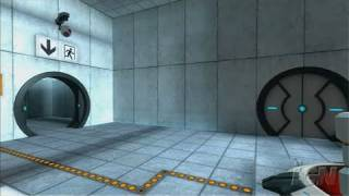 The Orange Box PlayStation 3 Gameplay - Portal: Gameplay