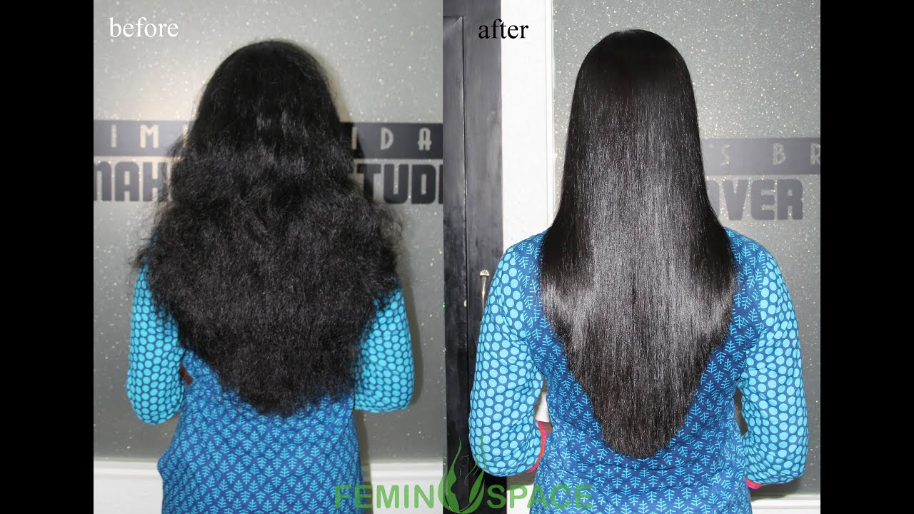 Permanent Hair Styling Straightening Smoothening Rebonding
