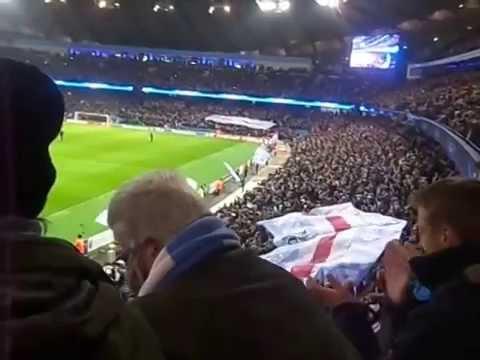 stick uefa up your arse V Bayern Munich 25th Nov 2014 3-2 win