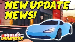 Roblox Jailbreak LIVE!! NEW WINTER UPDATE NEWS! New Cars, Snow Map, And Trains!? | 🔴 Roblox Live thumbnail